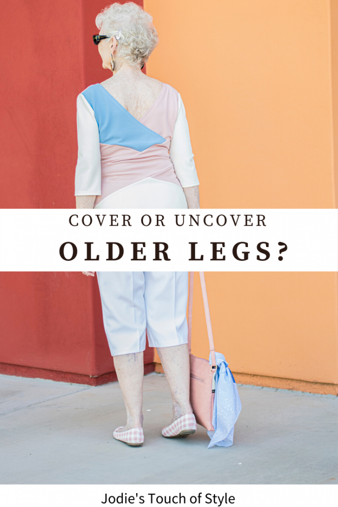 Cover or uncover older legs?