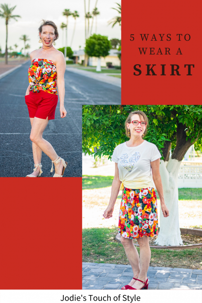 5 ways to wear a skirt