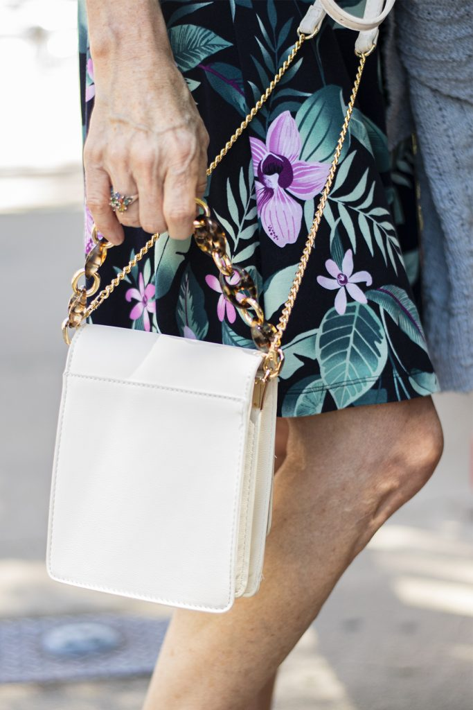 White purse for summer