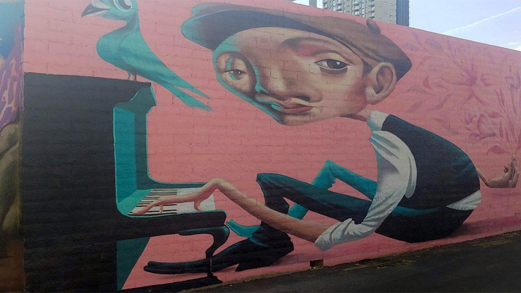 Mural on Roosevelt in AZ