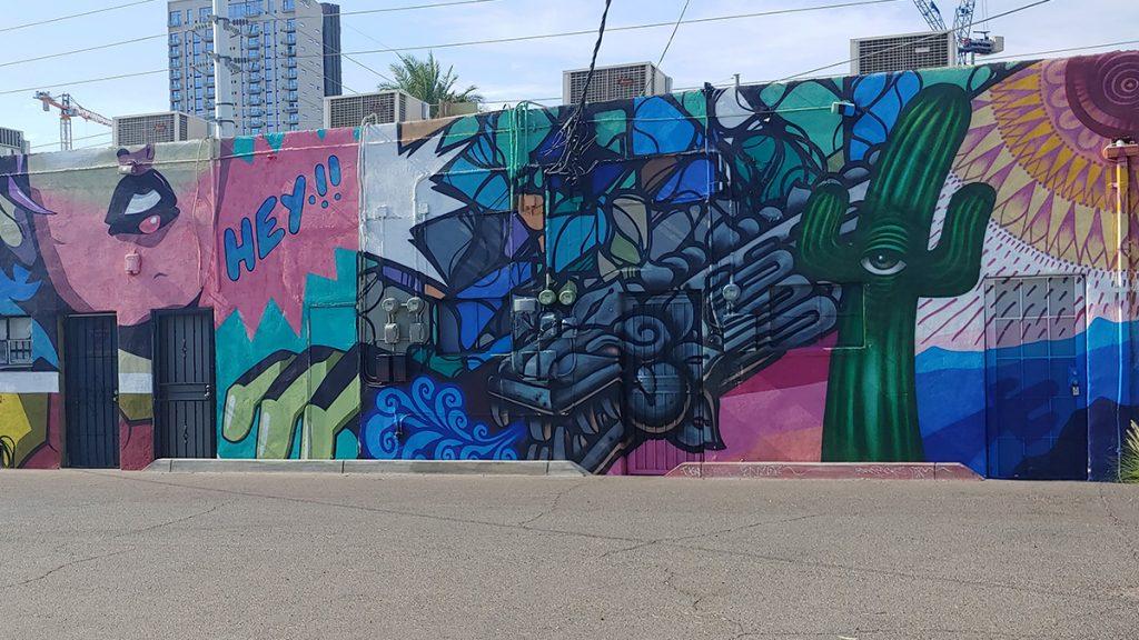 Wall art in Phoenix