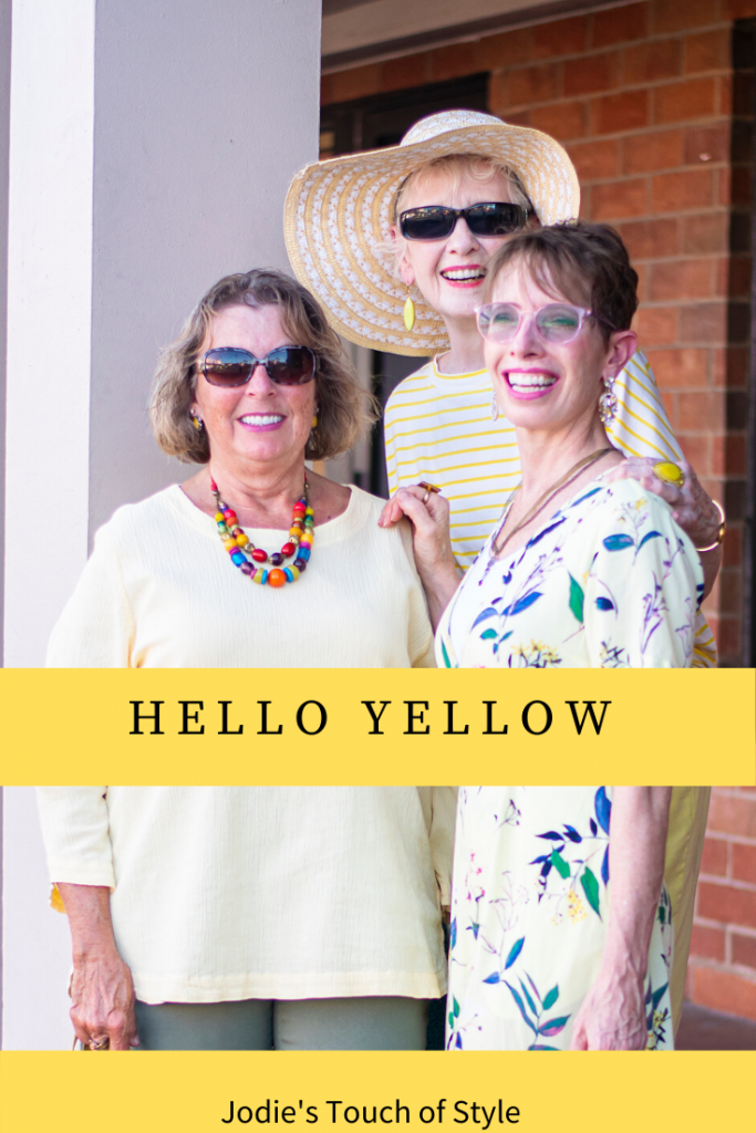 You can wear yellow
