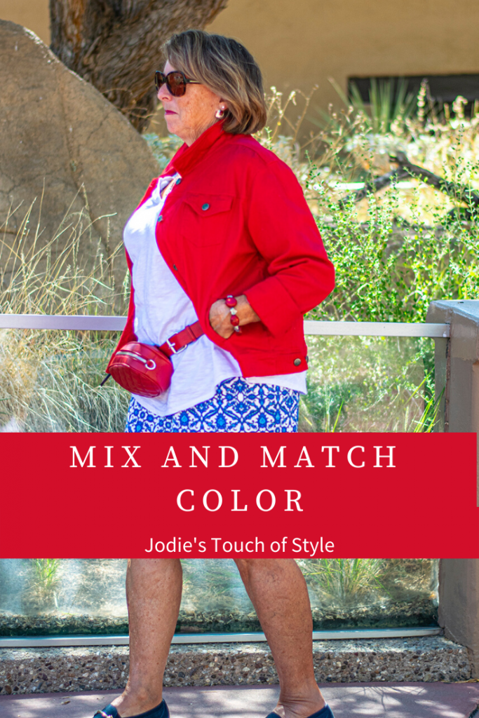 Mix and match color style