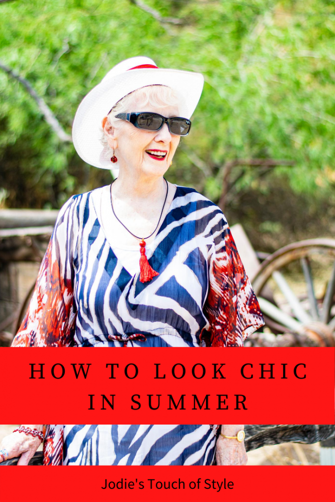 How to look chic in summer
