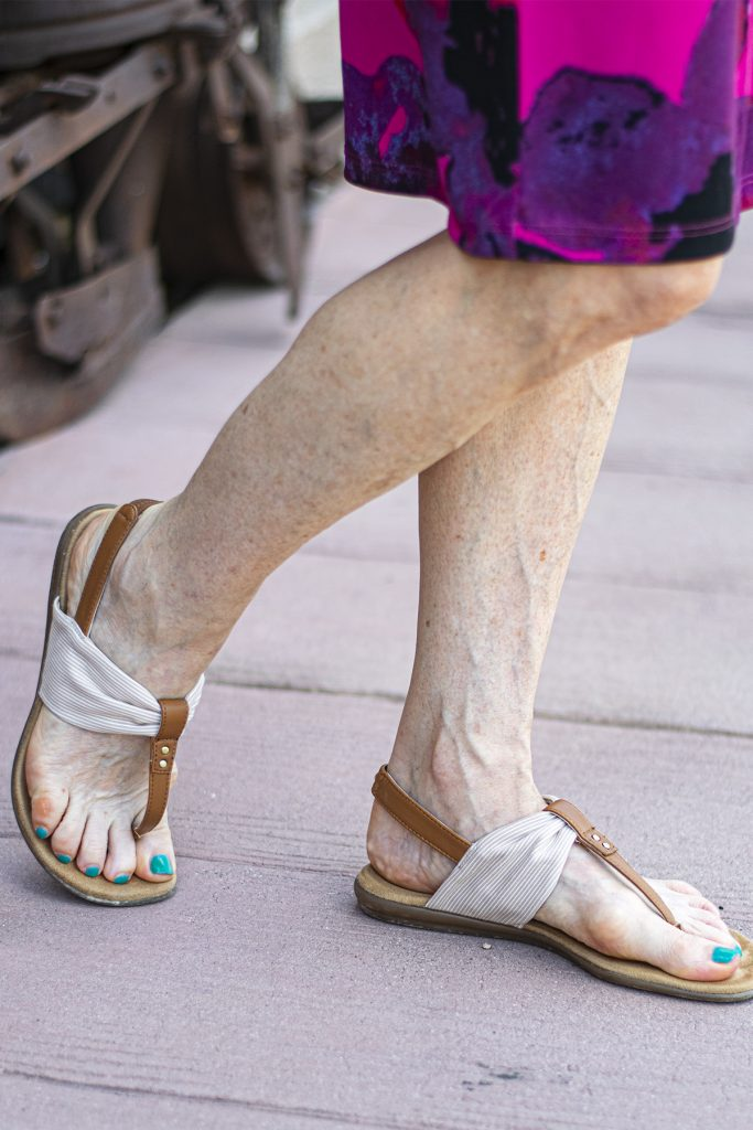 Sandals for what to wear when it's hot
