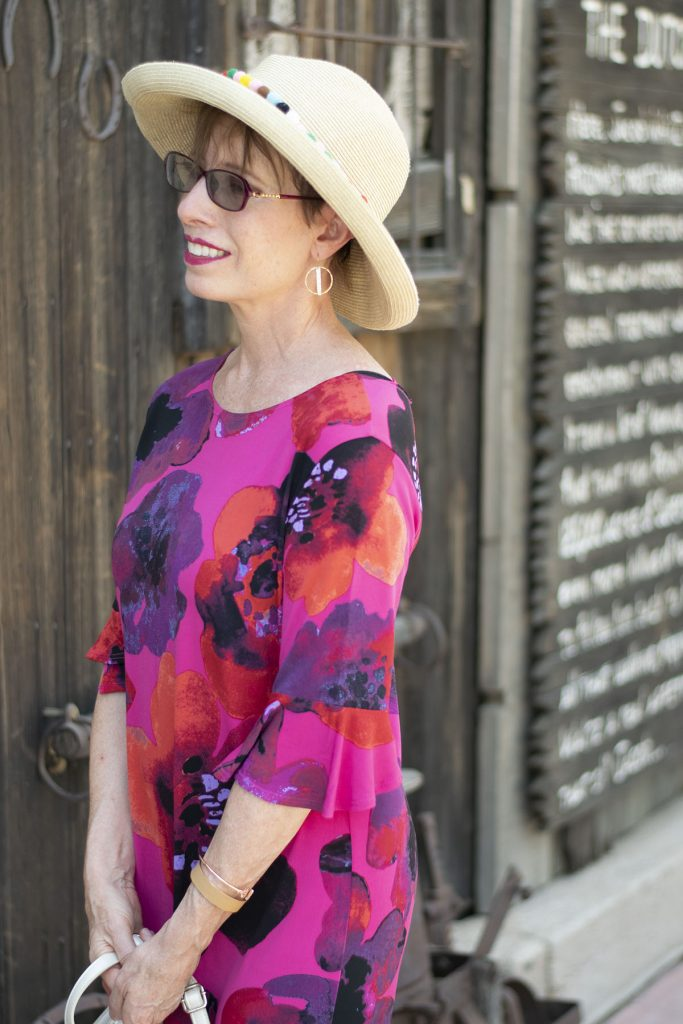 Print dress for what to wear when it's hot