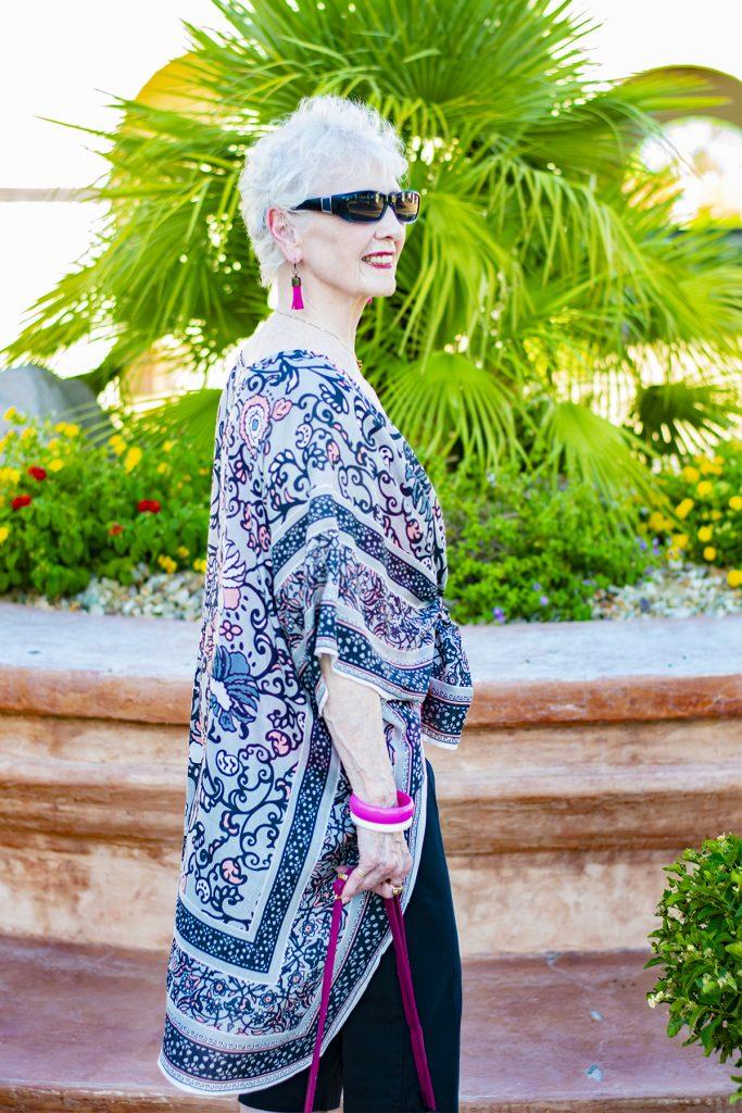 Black capris outfit for women