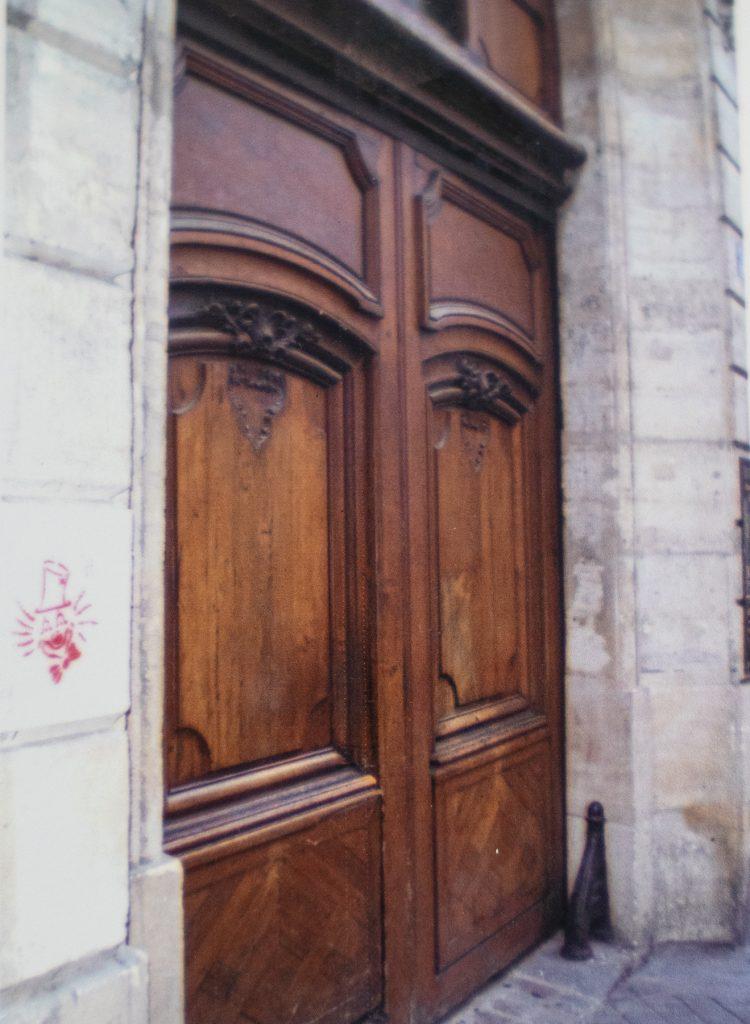 Doors in Paris as part of our vacation memories