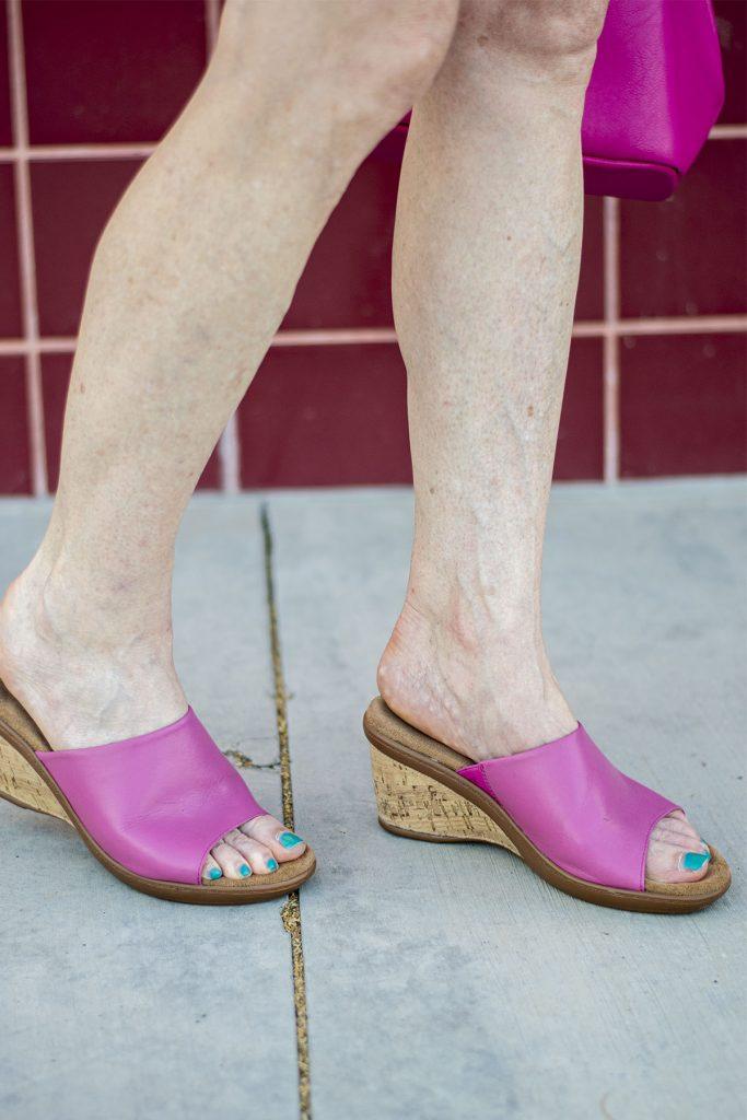 Pink Walking Cradles shoes