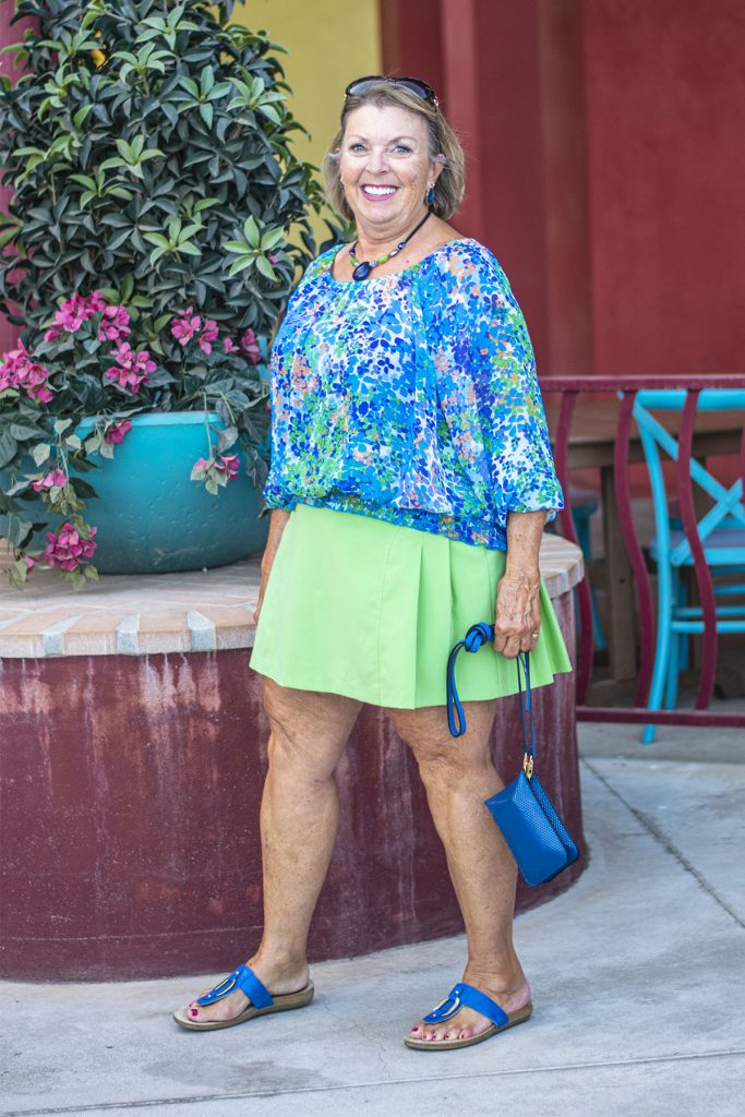Styling your worst colors in an outfit