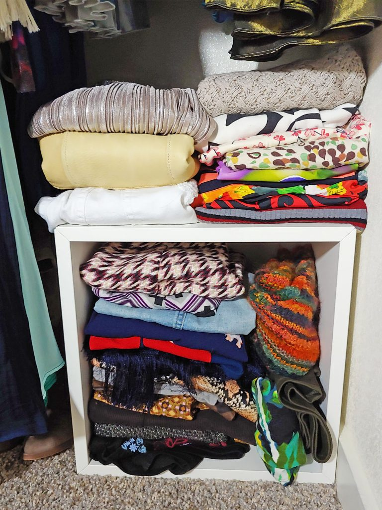 Closet tour with casual skirts