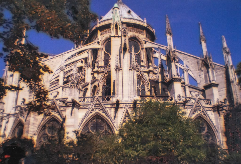 Vacation memories with Notre Dame