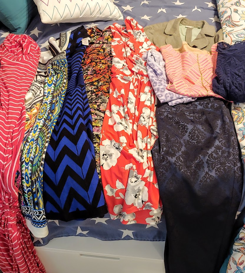 Clothing swap and thrift buys in September