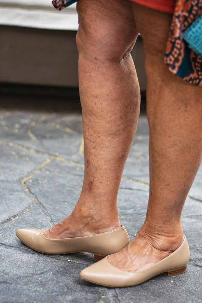 Nude flats from Walking Cradles