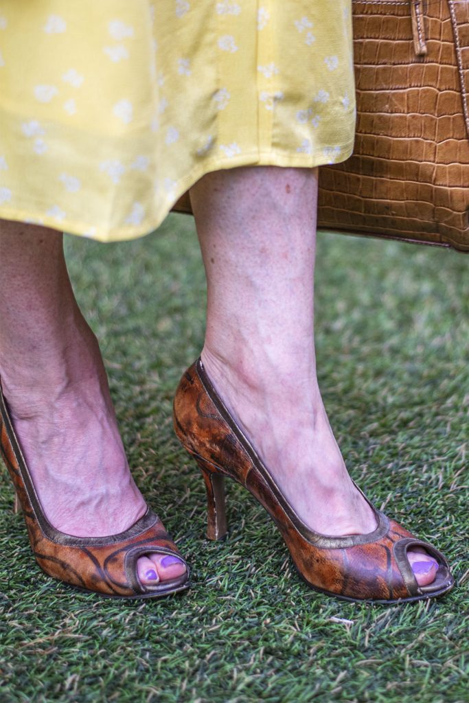 Peep toe shoes for fall