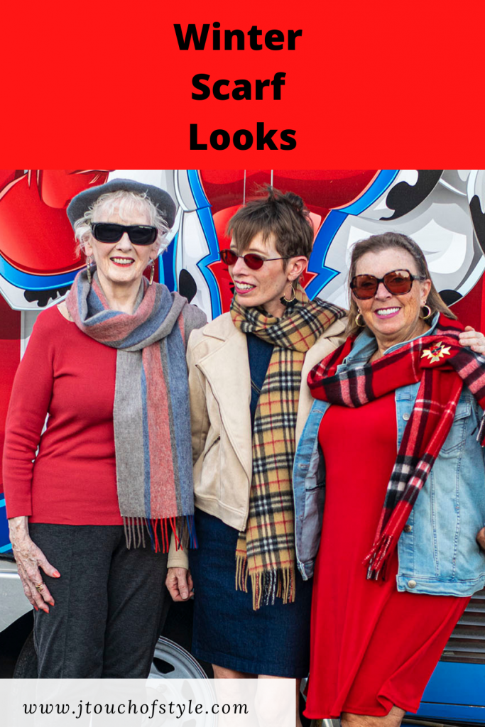 Winter scarf looks for adult women
