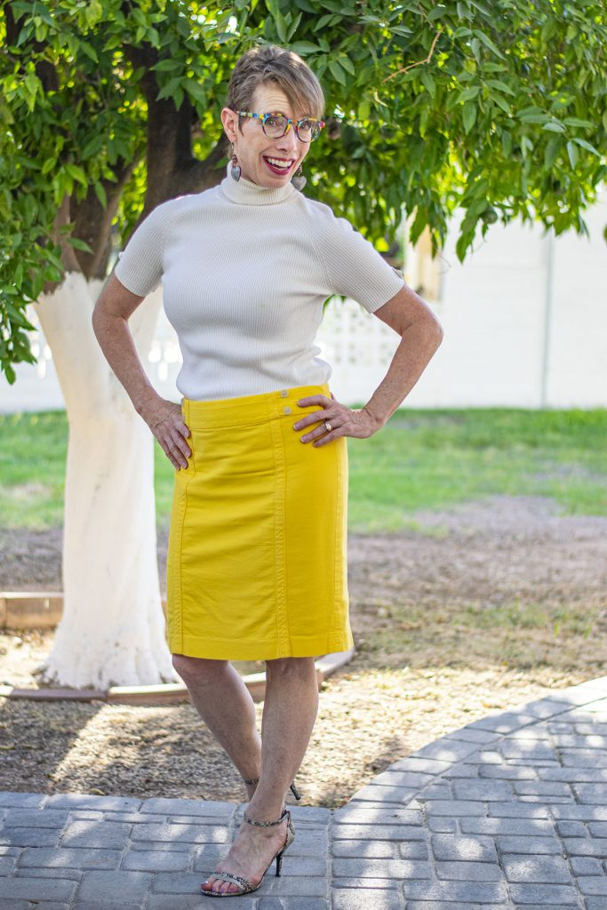 Why you should experiment with layering a skirt over a dress