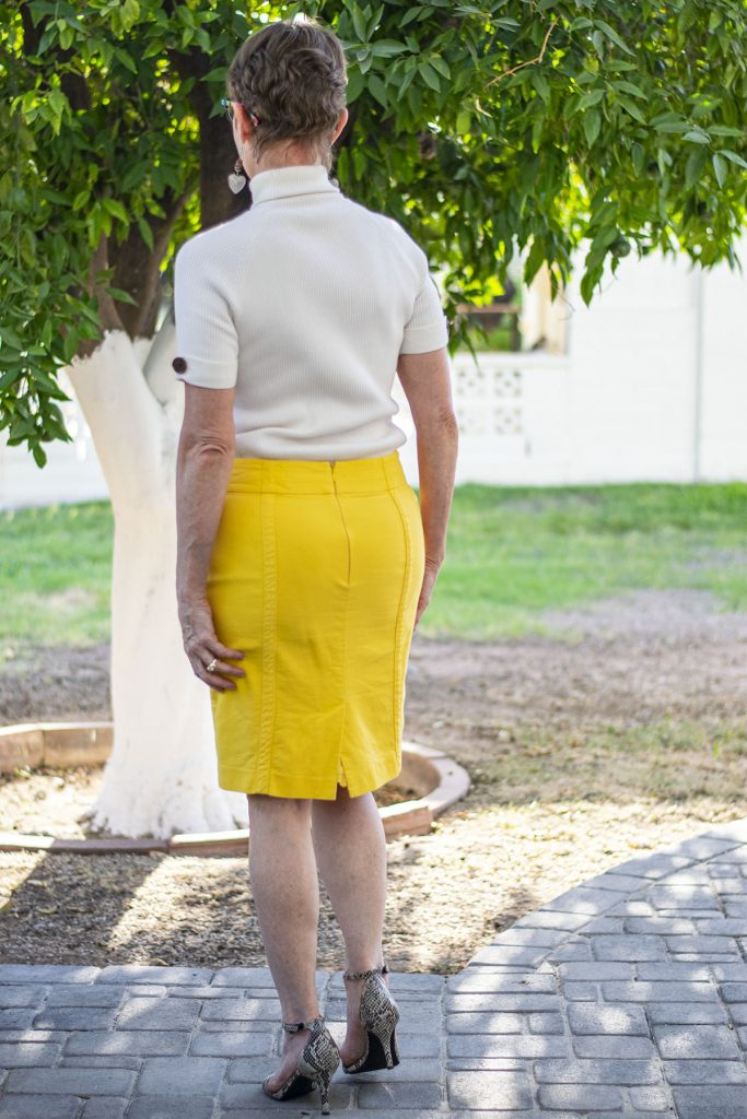 Ideas for layering a skirt over a dress