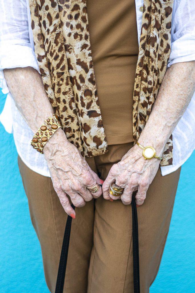 Tan jewelry