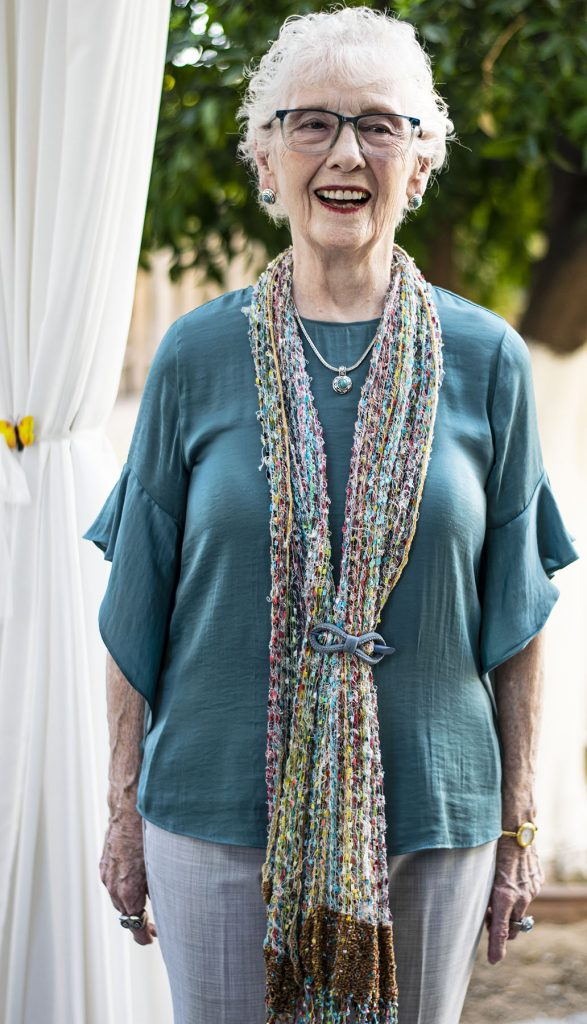 Choosing necklaces for necklines with scarf and necklace