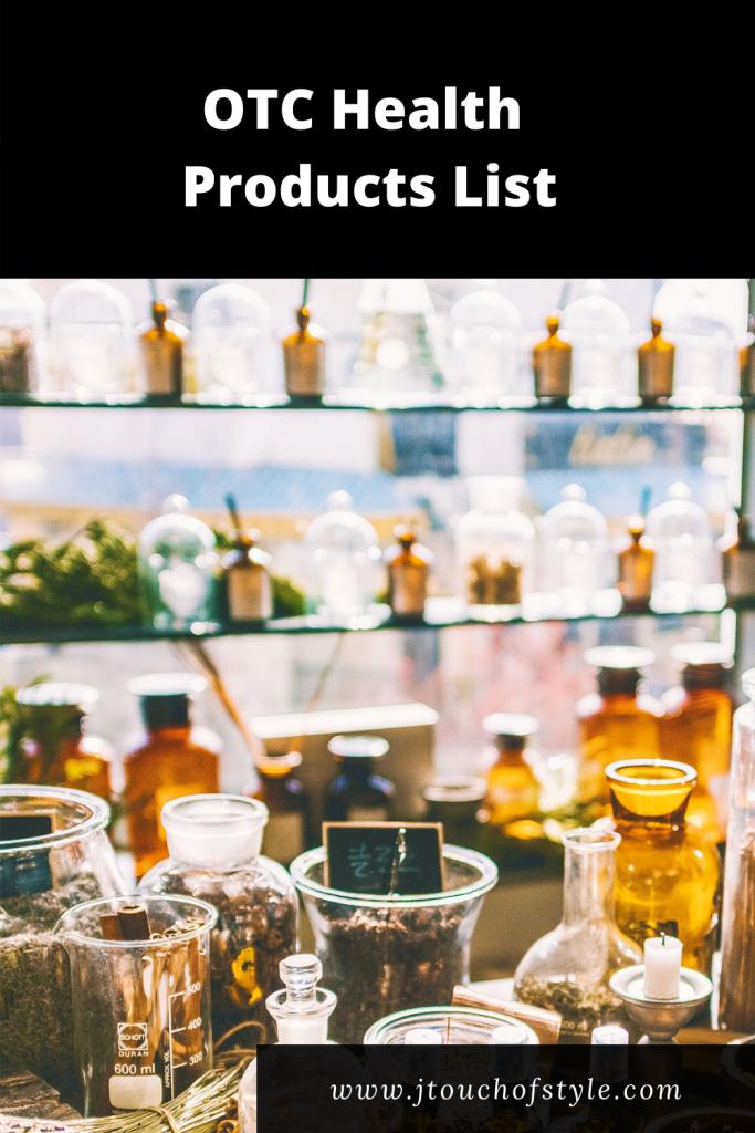 OTC health products list