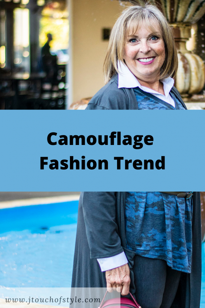Camouflage fashion trend