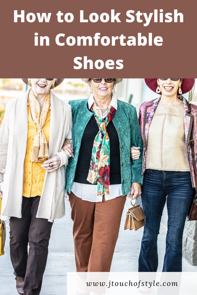How to look stylish in comfortable shoes