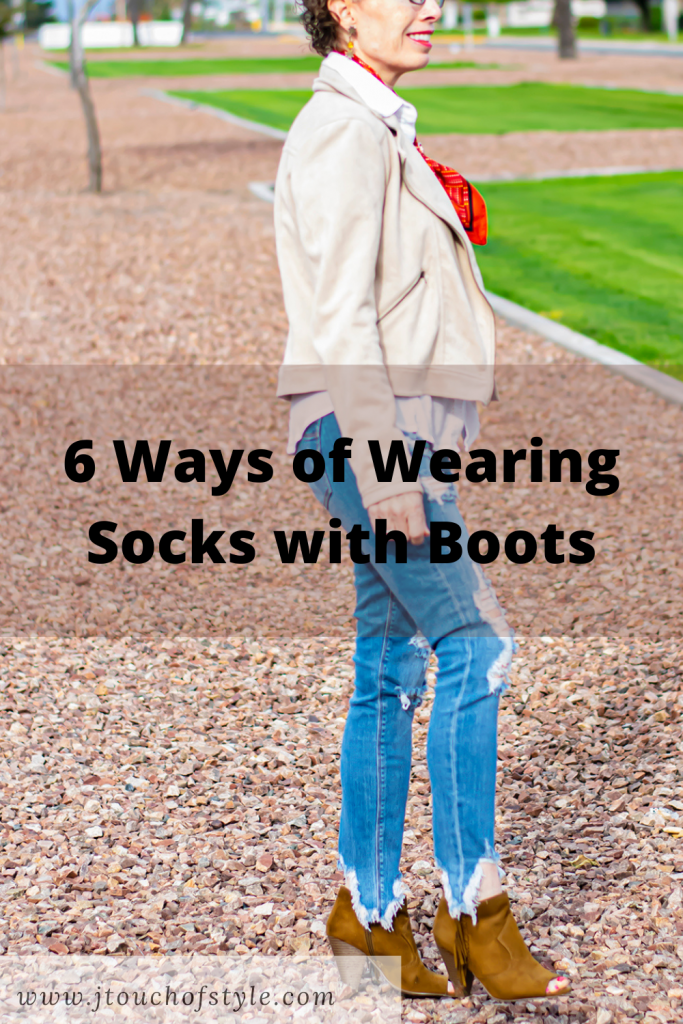 6 ways of wearing socks with boots