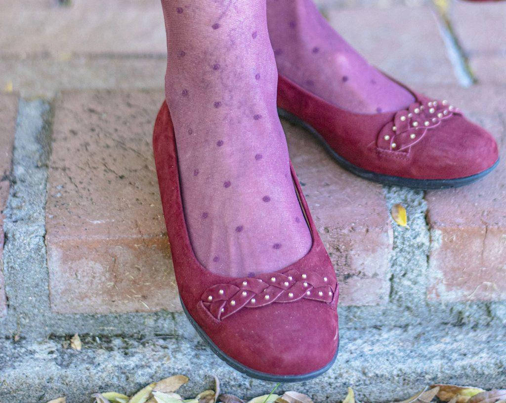 Cranberry shoes
