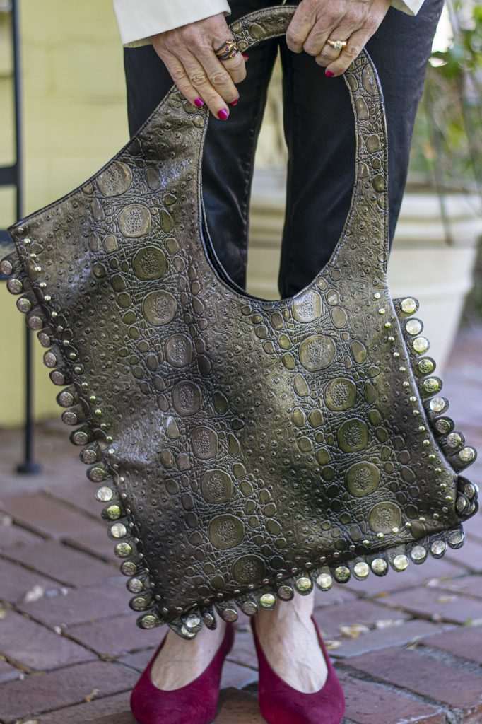 Edgy purse