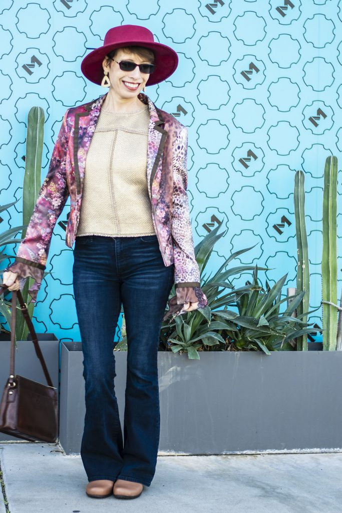 How to look stylish in flare jeans