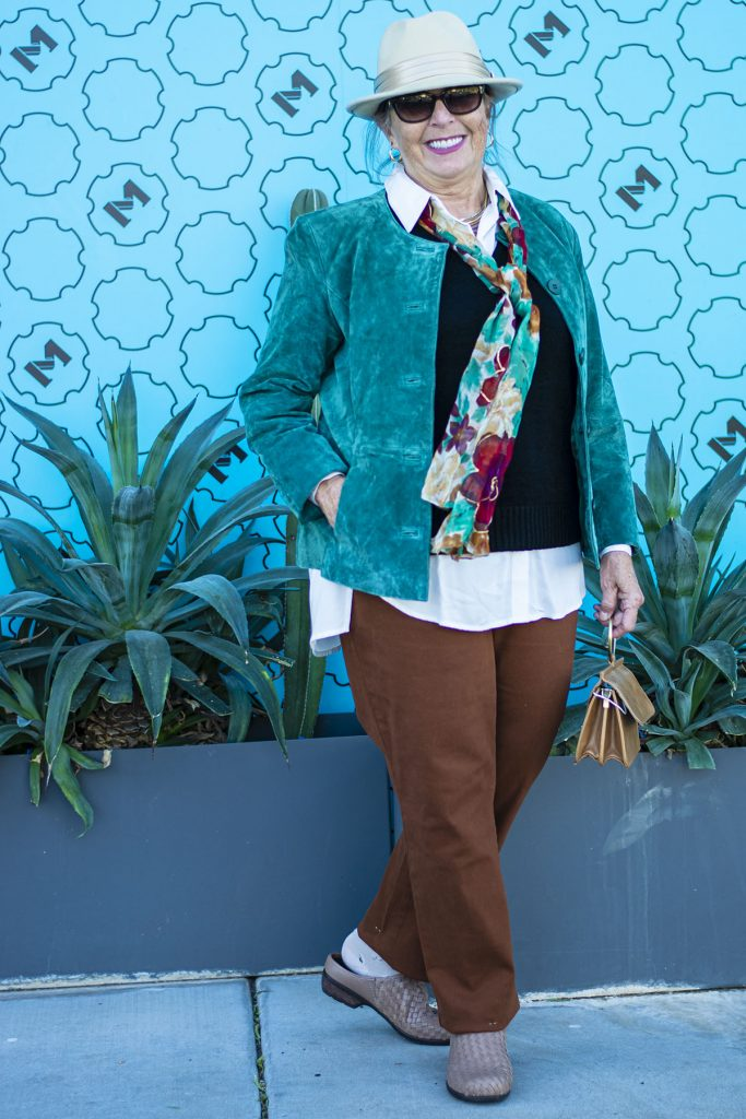 Fall outfit for older women