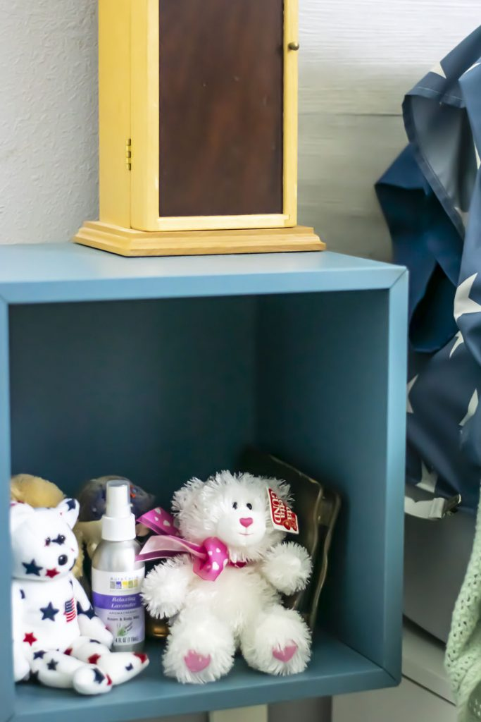 Storage cube for nightstand for small bedroom ideas