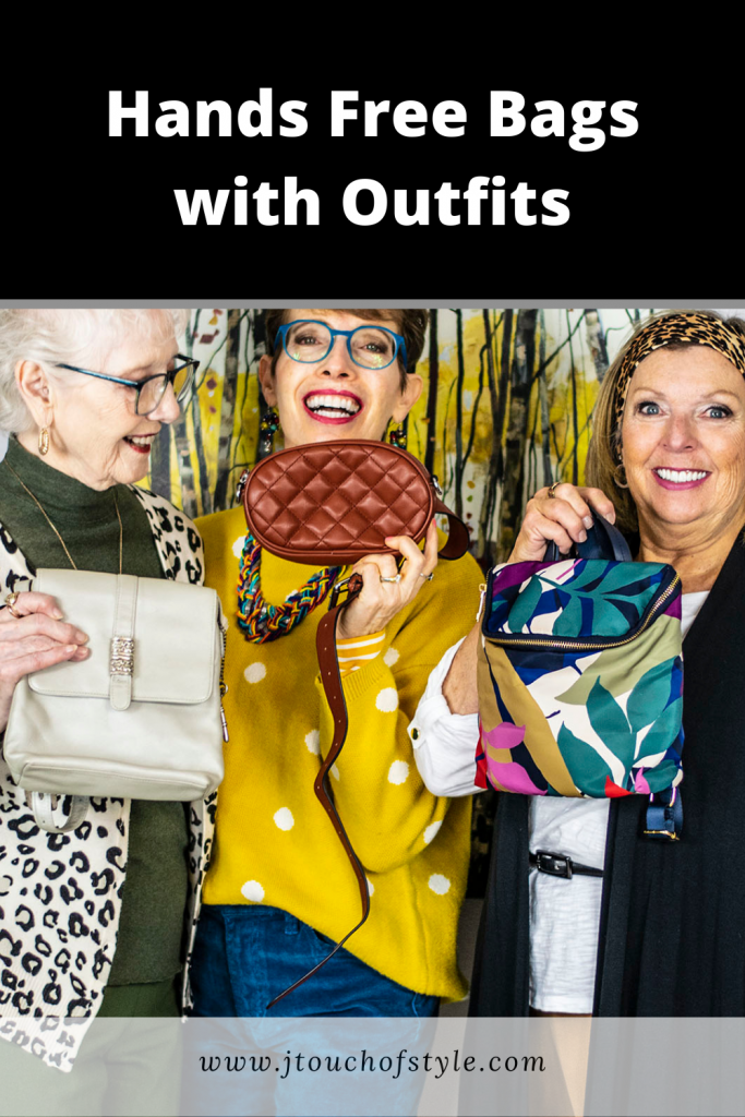Hands free bags with outfits