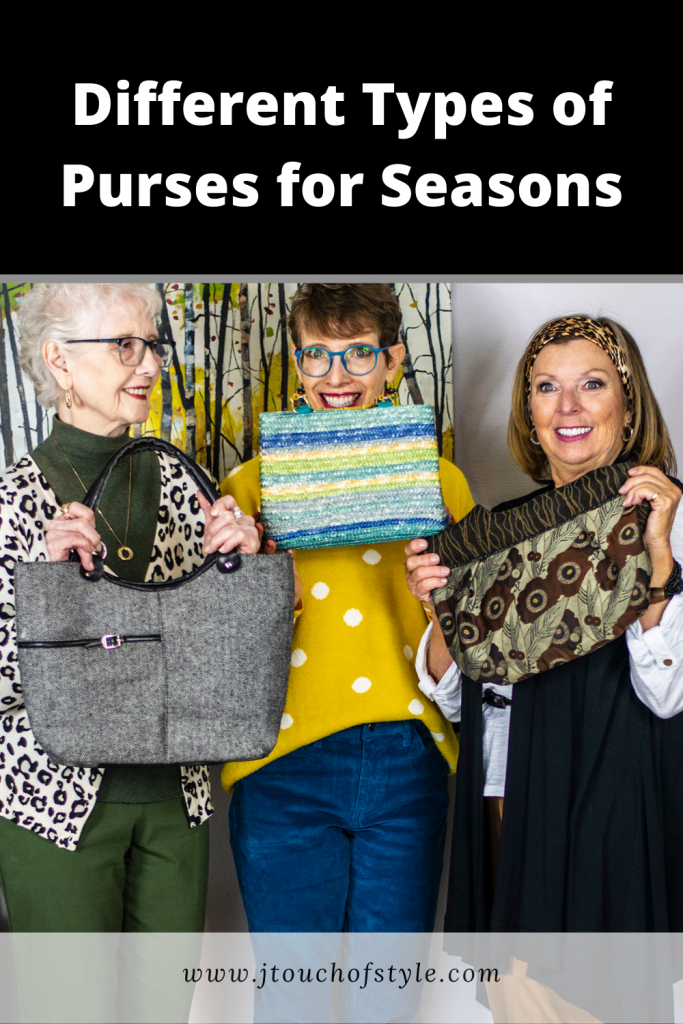 Different types of purses for seasons