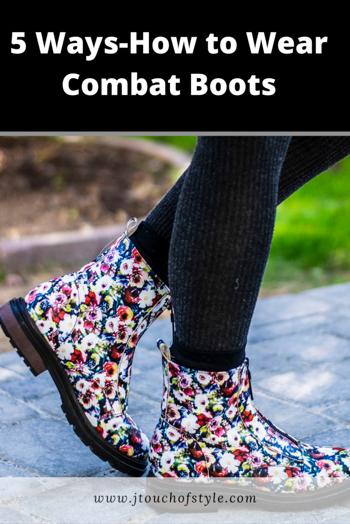 How to wear combat boots 5 ways