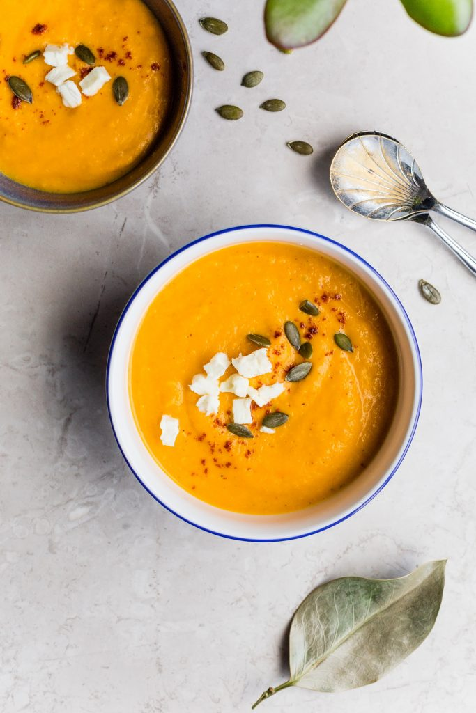 Soup is super healthy