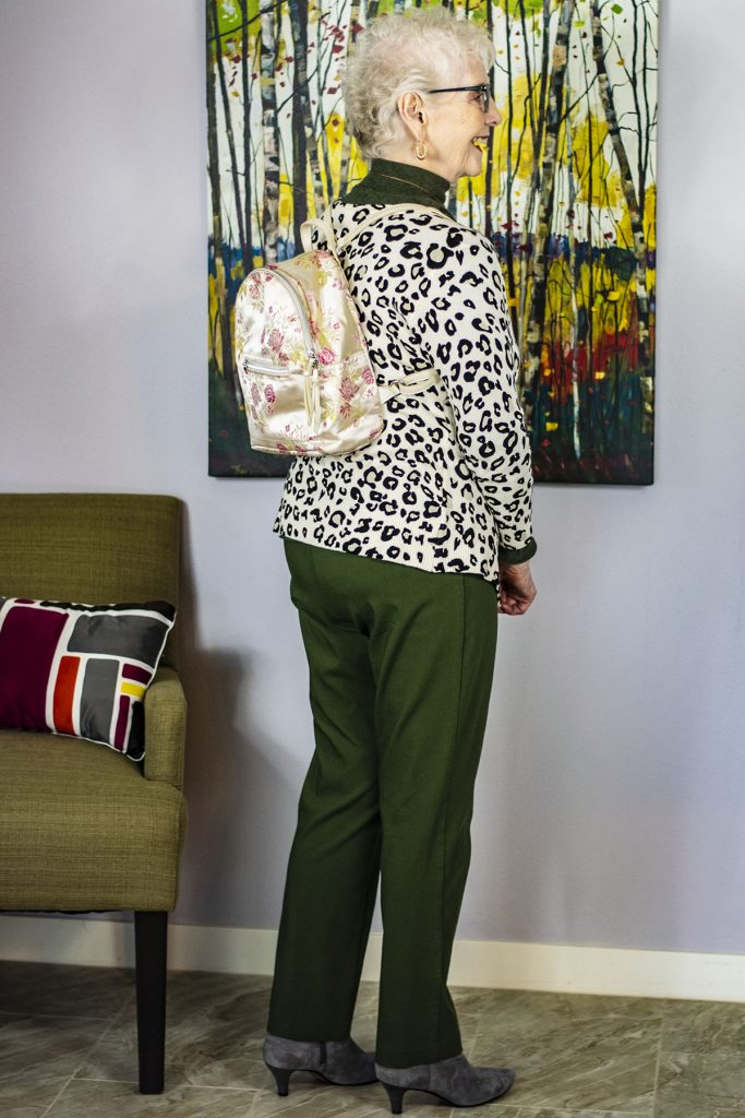 Hands free bags for older women