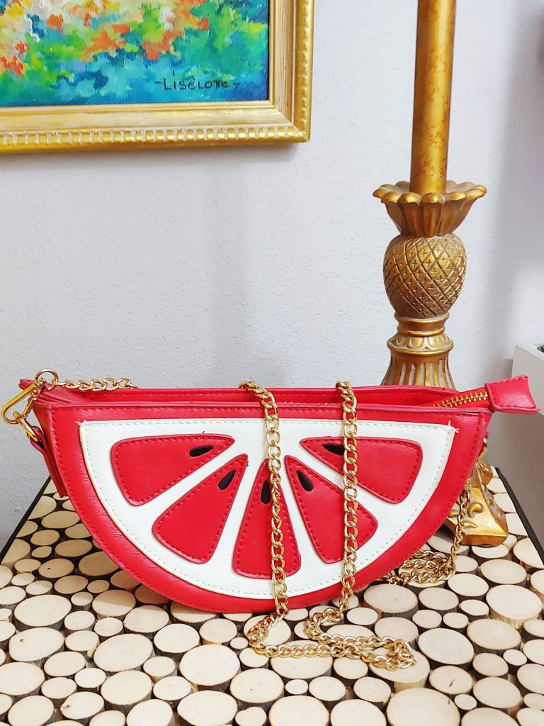 Watermelon purse for summer