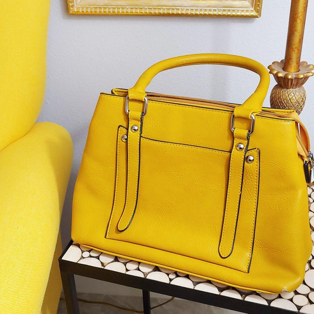 Yellow purse
