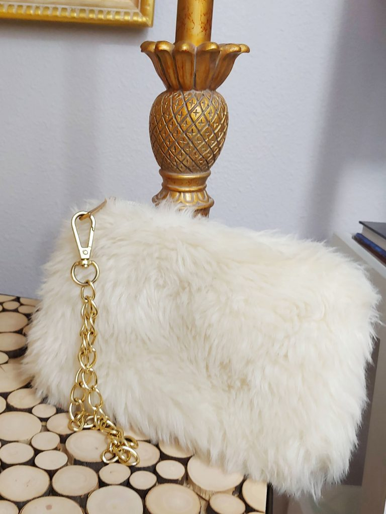Furry purse for winter
