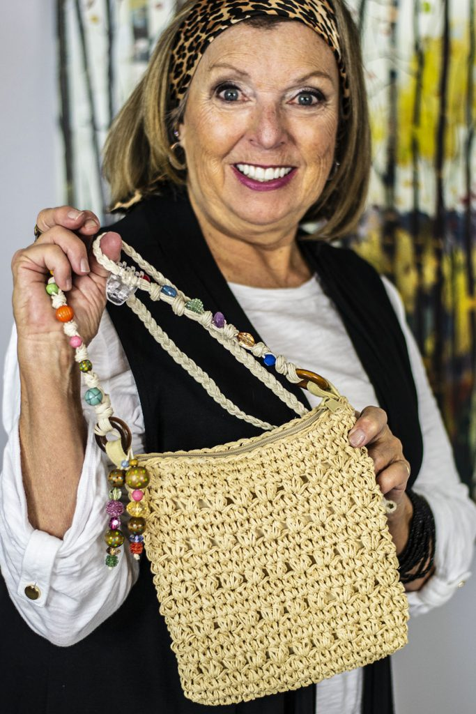 Lighten up with summer types of purses