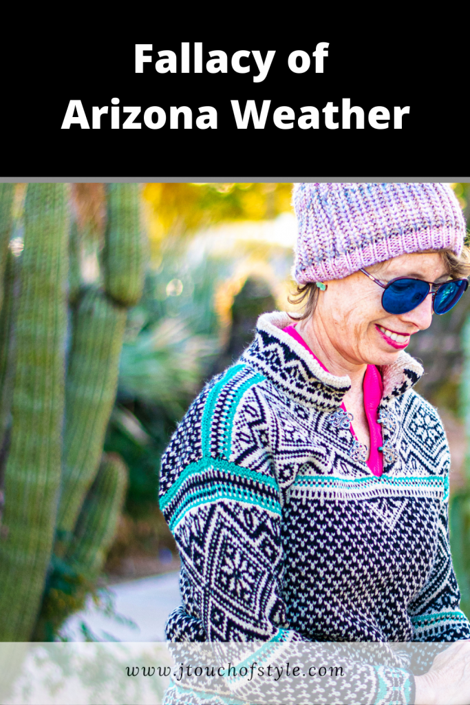 Fallacy of Arizona Weather