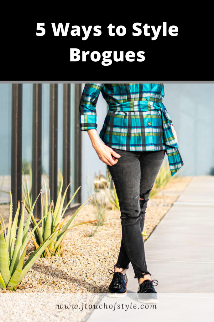 5 Ways of Styling Brogues