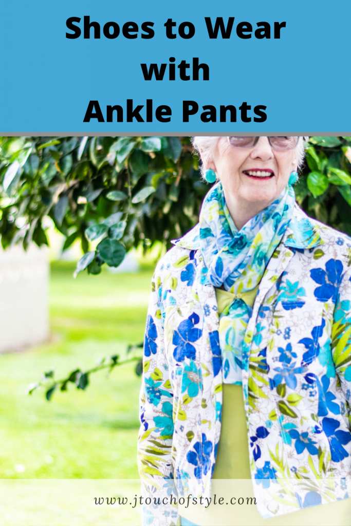 Shoes to wear with ankle pants