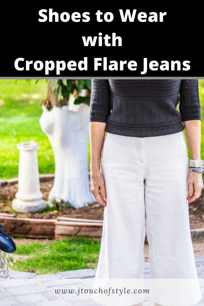 Shoes to wear with cropped flare jeans
