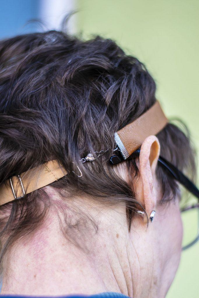 Adjustable head band