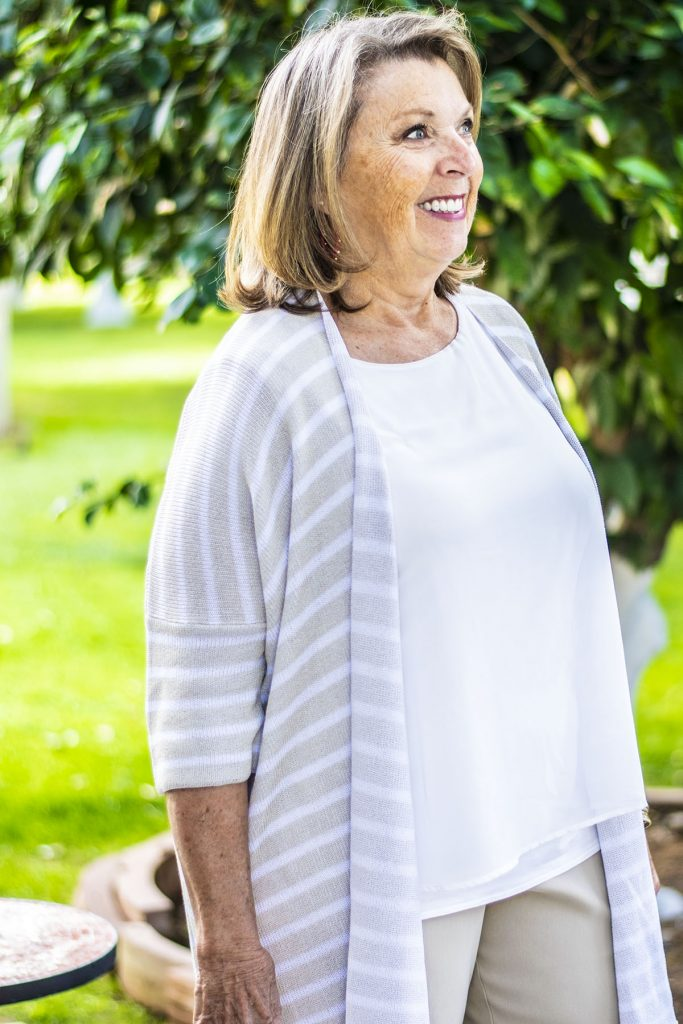 Spring style for women over 70