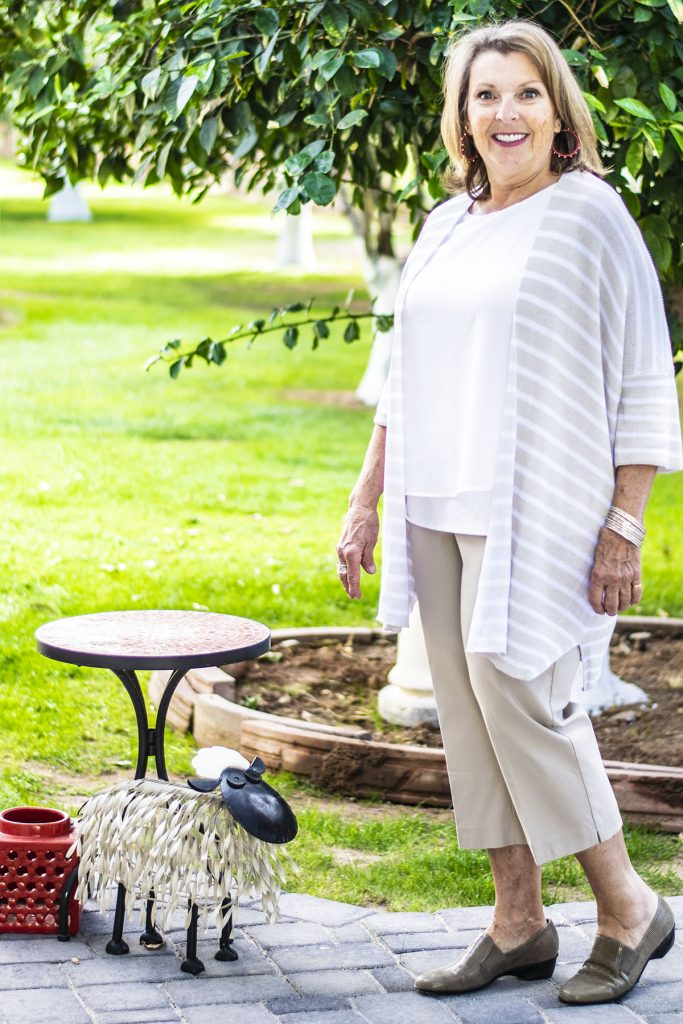 Woman over 70 in style