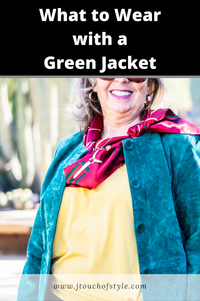 What to wear with a green jacket